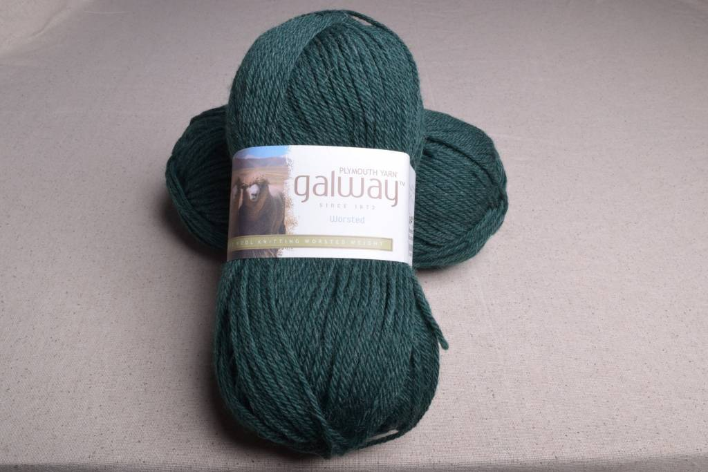 Image of Plymouth Galway Worsted 703 Mountain Green Heather
