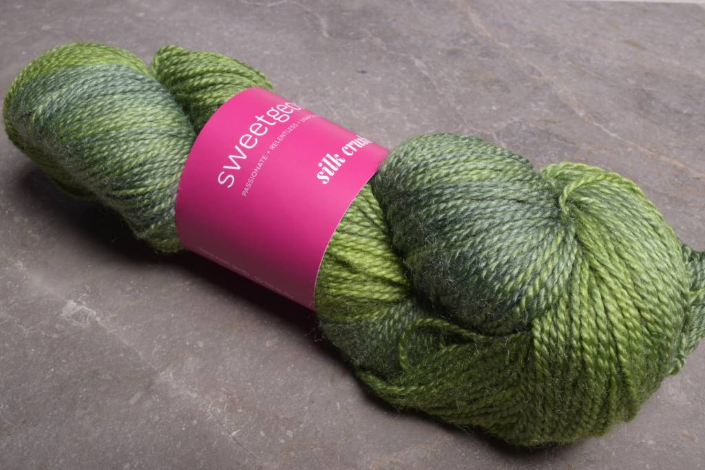 Image of Sweet Georgia Silk Crush Basil