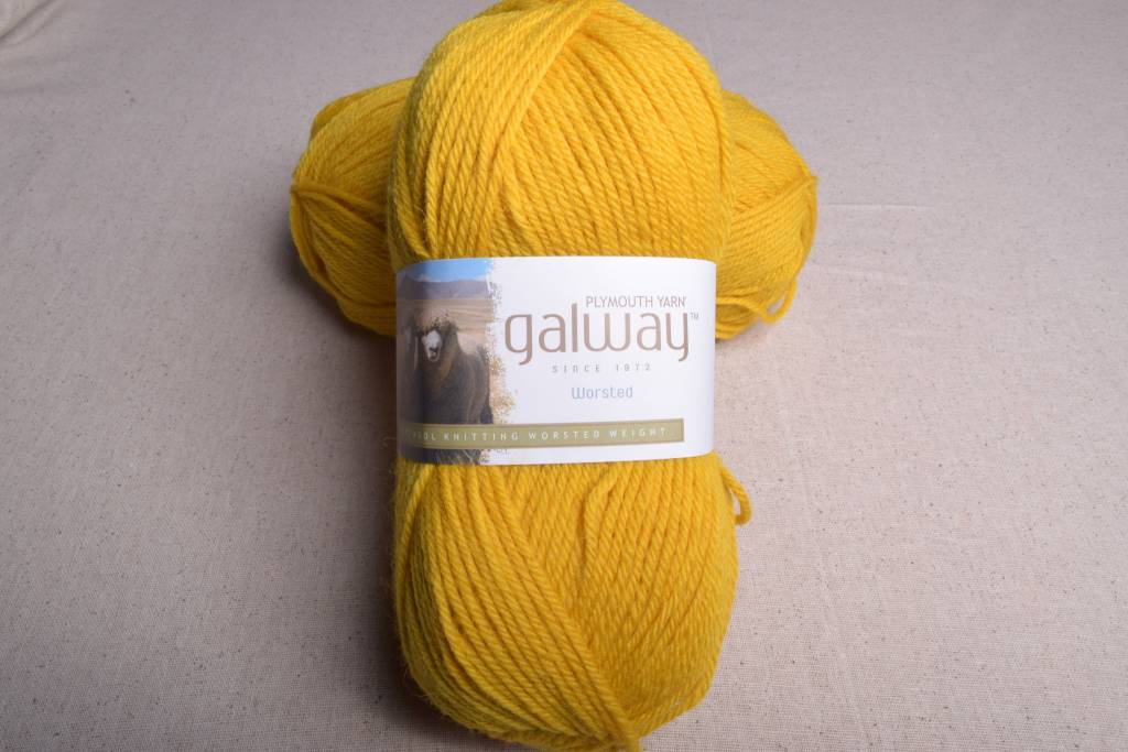 Image of Plymouth Galway Worsted 179 Lemon Zest