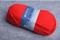 Plymouth Encore Worsted 1386 Christmas Red