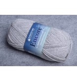 Plymouth Encore Worsted 6007 Light Grey Heather