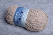 Image of Plymouth Encore Worsted 1415 Fawn Mix