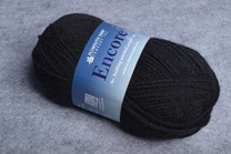 Image of Plymouth Encore Worsted 217 Black