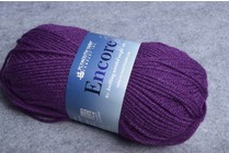 Plymouth Encore Worsted 158 Purple Amethyst