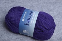 Image of Plymouth Encore Worsted 1034 Dark Lavender