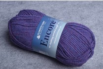 Image of Plymouth Encore Worsted 2426 Ivy Blue Mix
