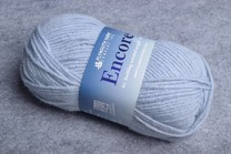 Image of Plymouth Encore Worsted 0144 Powder Blue