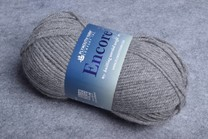 Image of Plymouth Encore Worsted 194 Medium Grey