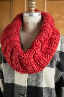 Teen Knitting 101, Oversized Infinity Cowl, Friday, May 5, 4:00-6:00PM