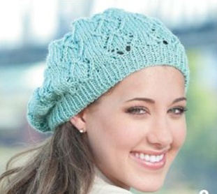 Teen Knitting, Lacy Beanie, Thursday, May 4, 5:00-7:00PM