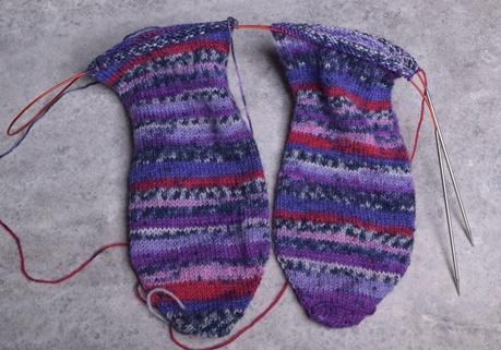 Toe-up, Two at a Time (Magic Loop) Socks, Sunday, May 21, 1:00-3:00PM