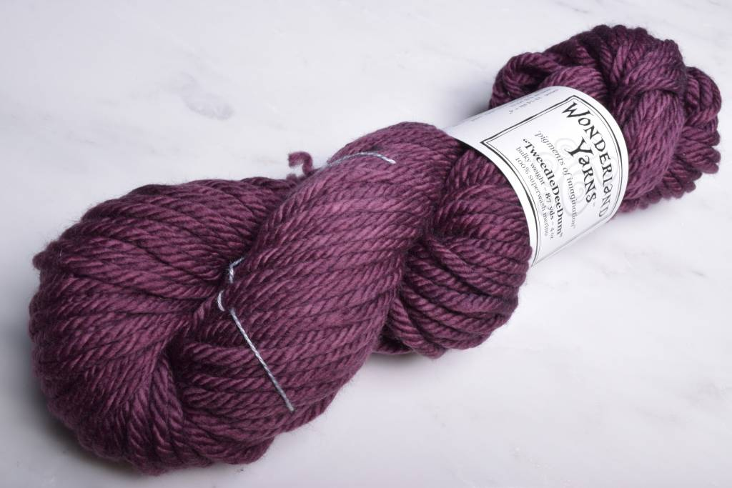 Wonderland Yarns TweedleDeeDum 55 Mince Pie
