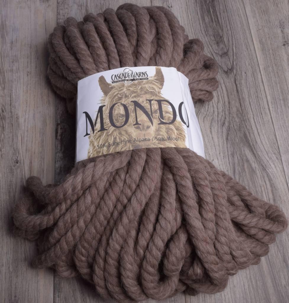 Image of Cascade Mondo 8013 Walnut Heather
