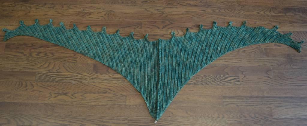 Dragon Wings Wrap Crochet Class, Saturday, June 3, 2:00-4:00PM