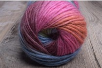 Viking Odin Superwash Wool 833 Mauve, Aqua, Rust