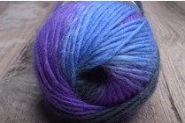 Viking Odin Superwash Wool 889 Purples, Greys