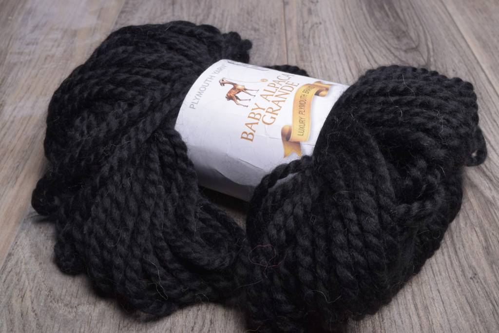 Image of Plymouth Baby Alpaca Grande 500 Black