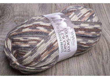 WYS Bluefaced Leicester Aran Prints