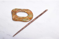 Paradise Copper Shell Shawl Pin 32502