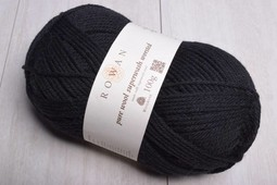 Image of Rowan Pure Wool Worsted 109 Black