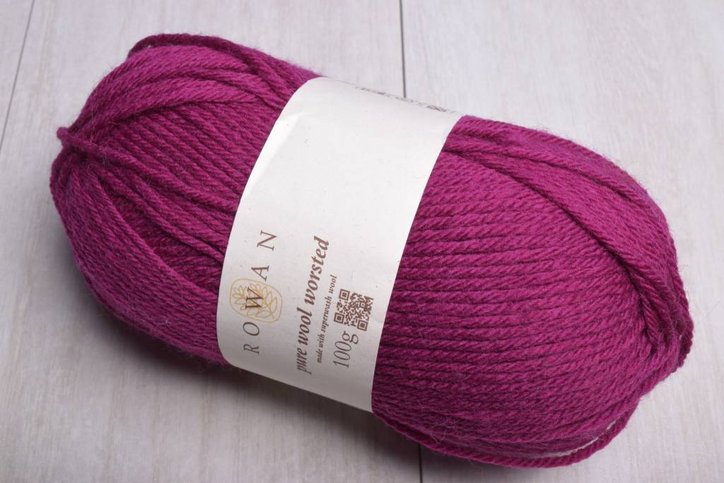 Image of Rowan Pure Wool Worsted 120 Raspberry