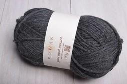 Image of Rowan Pure Wool Worsted 155 Charcoal Grey