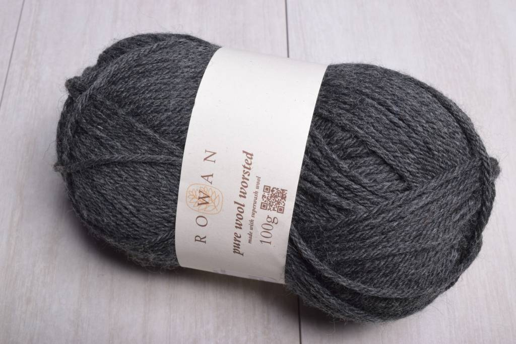 Image of Rowan Pure Wool Worsted 155 Charcoal Grey