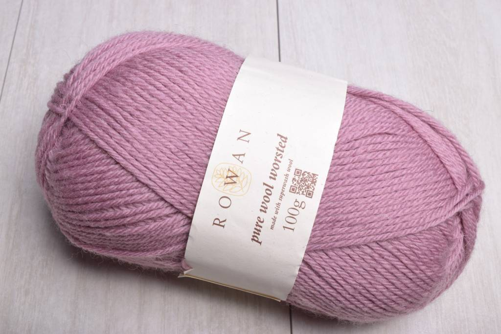 Rowan Pure Wool Worsted 116 Mauve