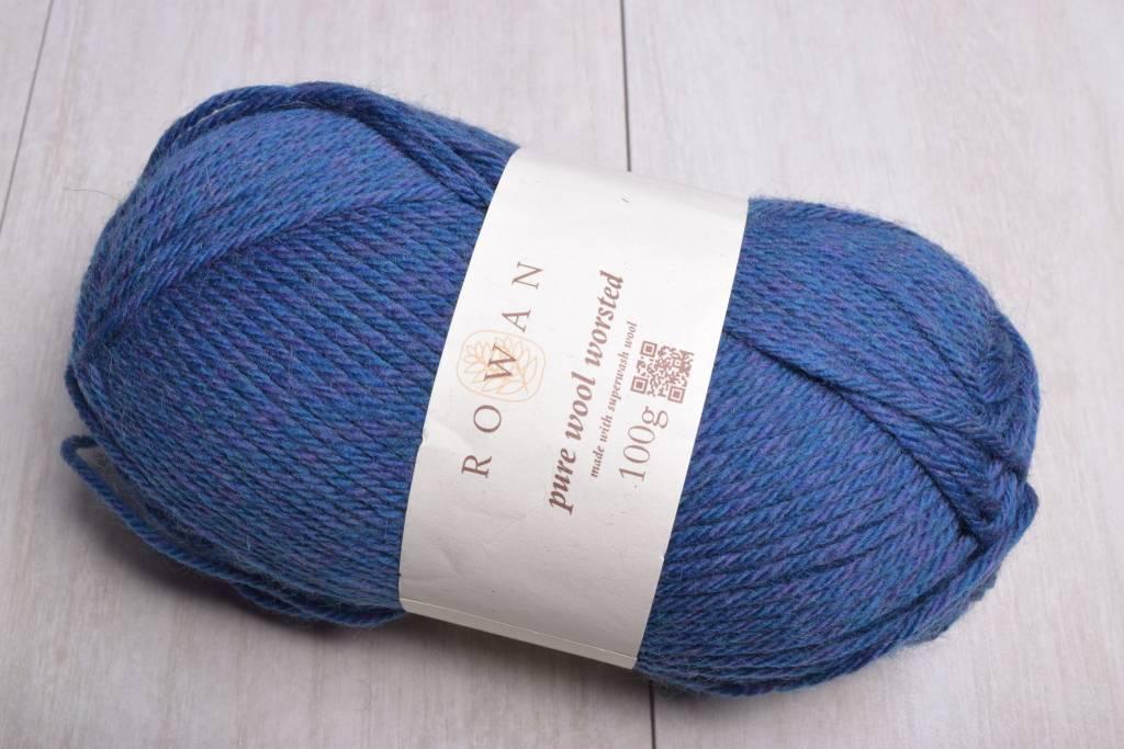 Image of Rowan Pure Wool Worsted 153 Blue Purple Mix