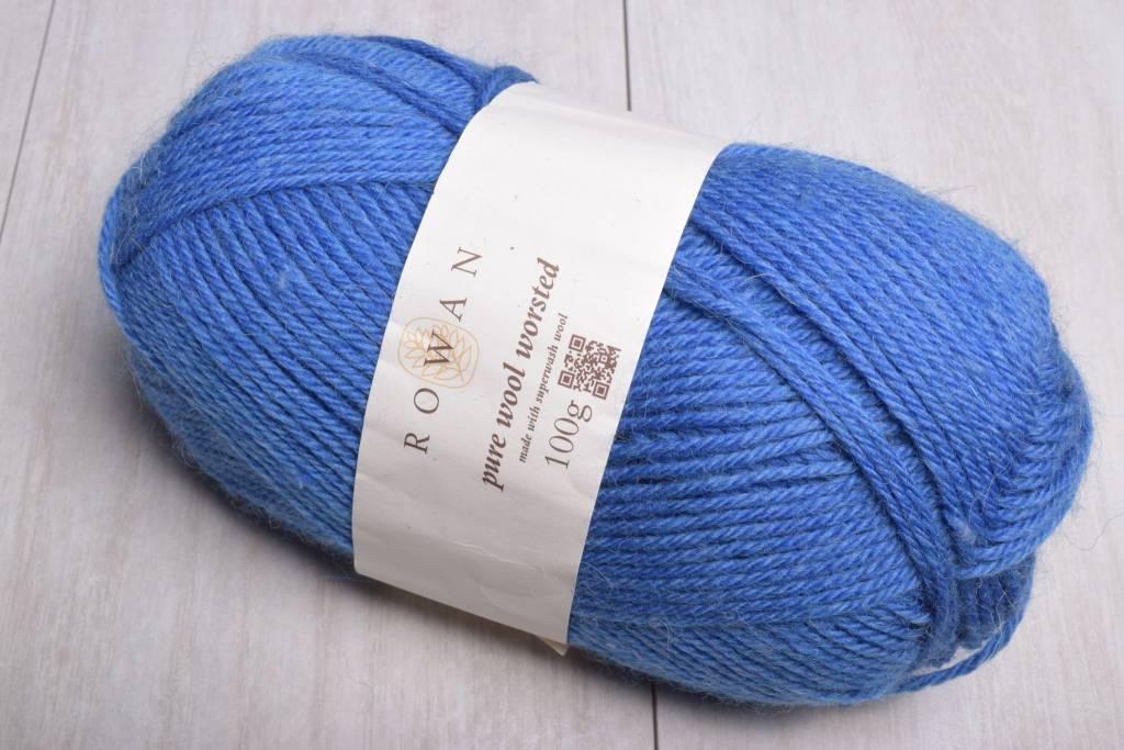 Image of Rowan Pure Wool Worsted 160 Marina Blue