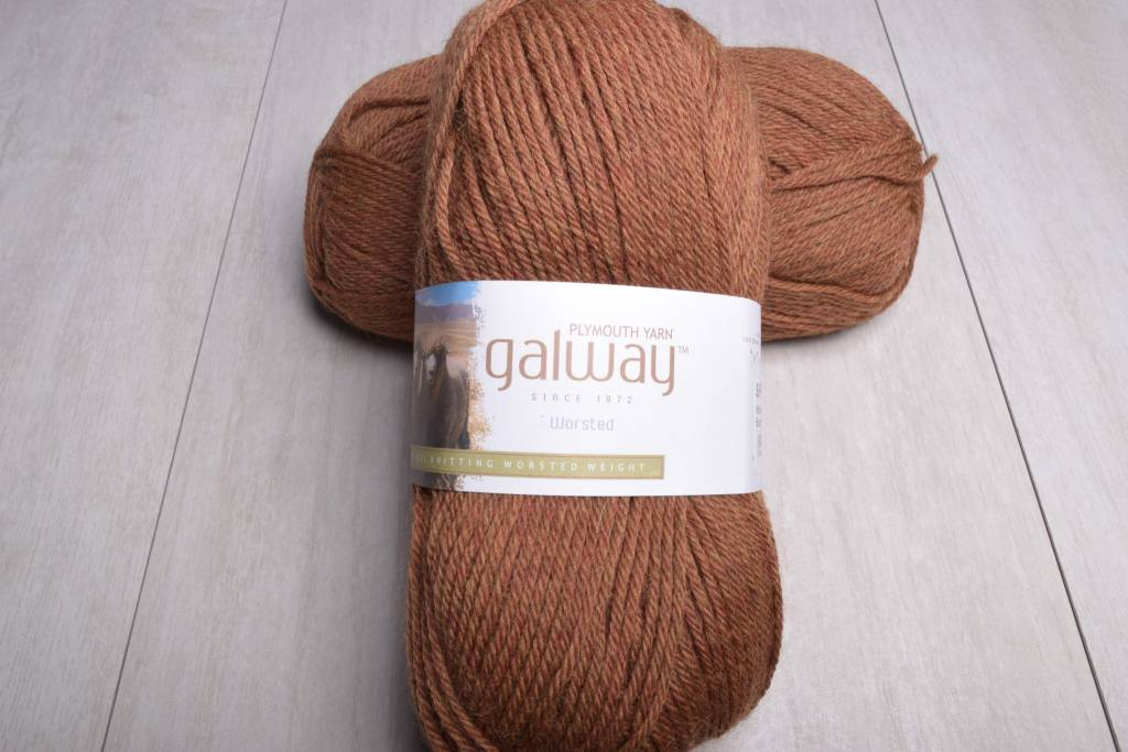Plymouth Galway Worsted 753 Burnished Gold Heather