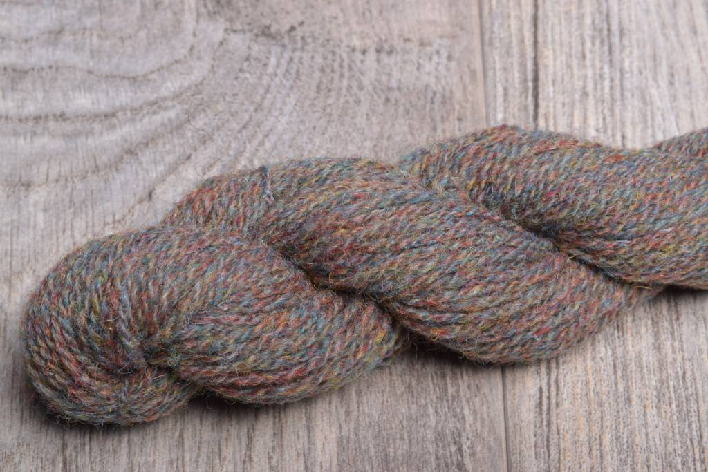 Jamieson & Smith Shetland Wool  FC57 Brown Blue