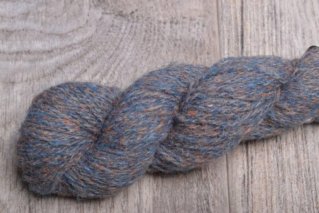 Jamieson & Smith Shetland Wool  1279 Blue Orange