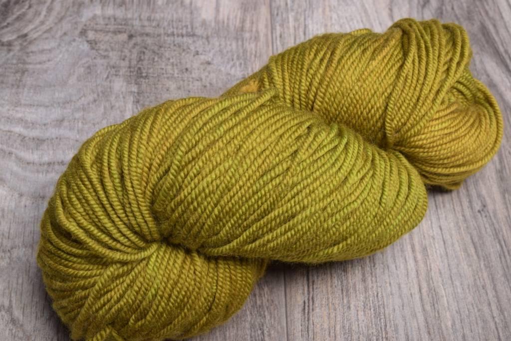 Image of Ella Rae Lace Merino Worsted 114 Mustard Green