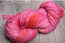 Ella Rae Lace Merino Worsted 3 Pink Red Orange