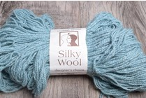 Image of Elsebeth Lavold Silky Wool 105 Icy Blue
