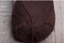 Rauma Finullgarn 422 Dark Brown