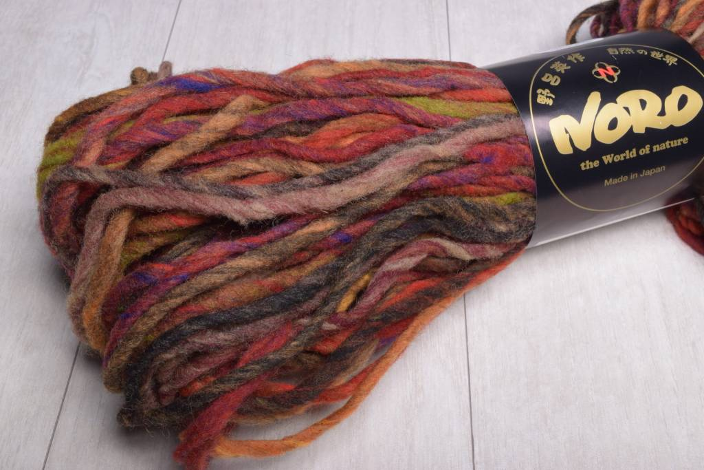 Image of Noro Kureyon Air 263 Tomato Black Brown