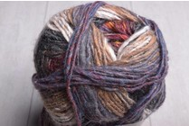 Noro Silk Garden Sock Yarn S349 Burnt Orange Charcoal Brown Burgundy