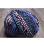 ONline Supersocke 8-Ply 1848 Blue Purple White