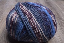 ONline Supersocke 8-Ply 1848 Blue Purple White