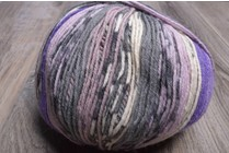 ONline Supersocke 8-ply 1851 Purple Grey White