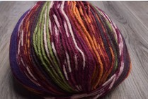 ONline Supersocke 8-Ply 1852 Red Purple Orange Green