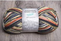 Image of Online Supersocke 6 Ply Mambo Color 1830 Bengal Tiger