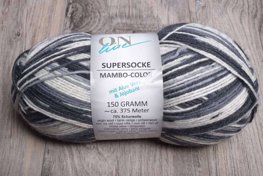 Online Supersocke 6 Ply Mambo Color 1832 Night Vision