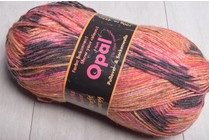 Opal 4 ply Sock Yarn 4083 Orange Surprise