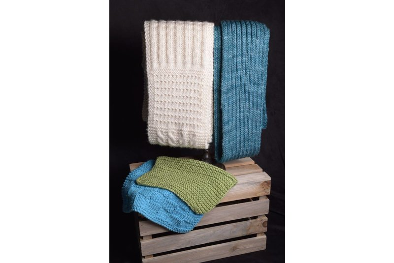 Adult Knitting 101 Wash Cloths & Scarf, Monday, July 10, 6:00-8:00PM