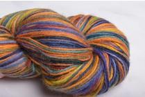 Misti Alpaca Hand Paint Sock Yarn Fingering HS52 Columbia
