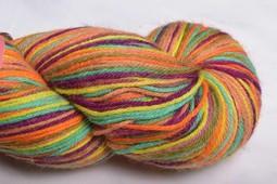 Image of Misti Alpaca Hand Paint Sock Yarn Fingering HS55 Spice it Up