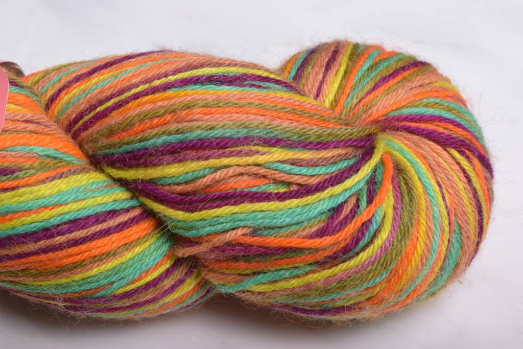Misti Alpaca Hand Paint Sock Yarn Fingering HS55 Spice it Up